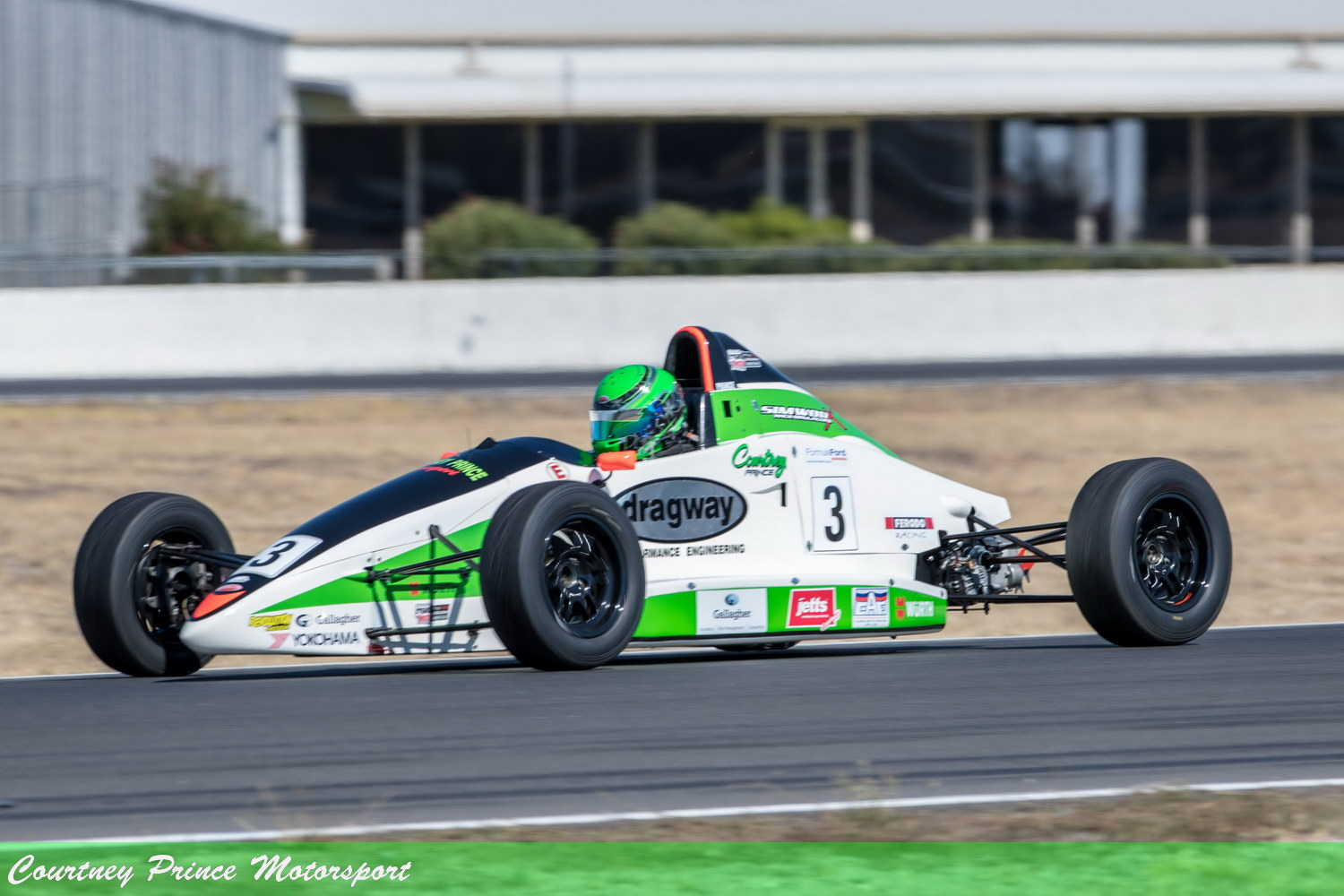Courtney racing. National Series - Round 1, Winton 9-11th March 2018. Courtney Prince Motorsport.