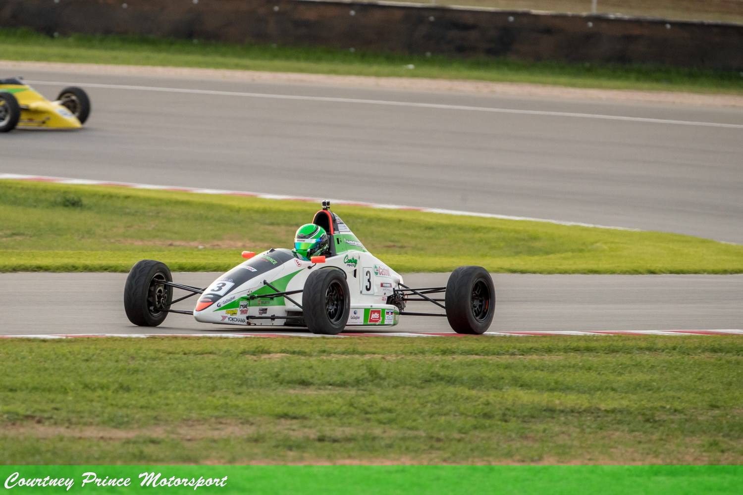 Courtney's racing at the The Bend SA State Round.