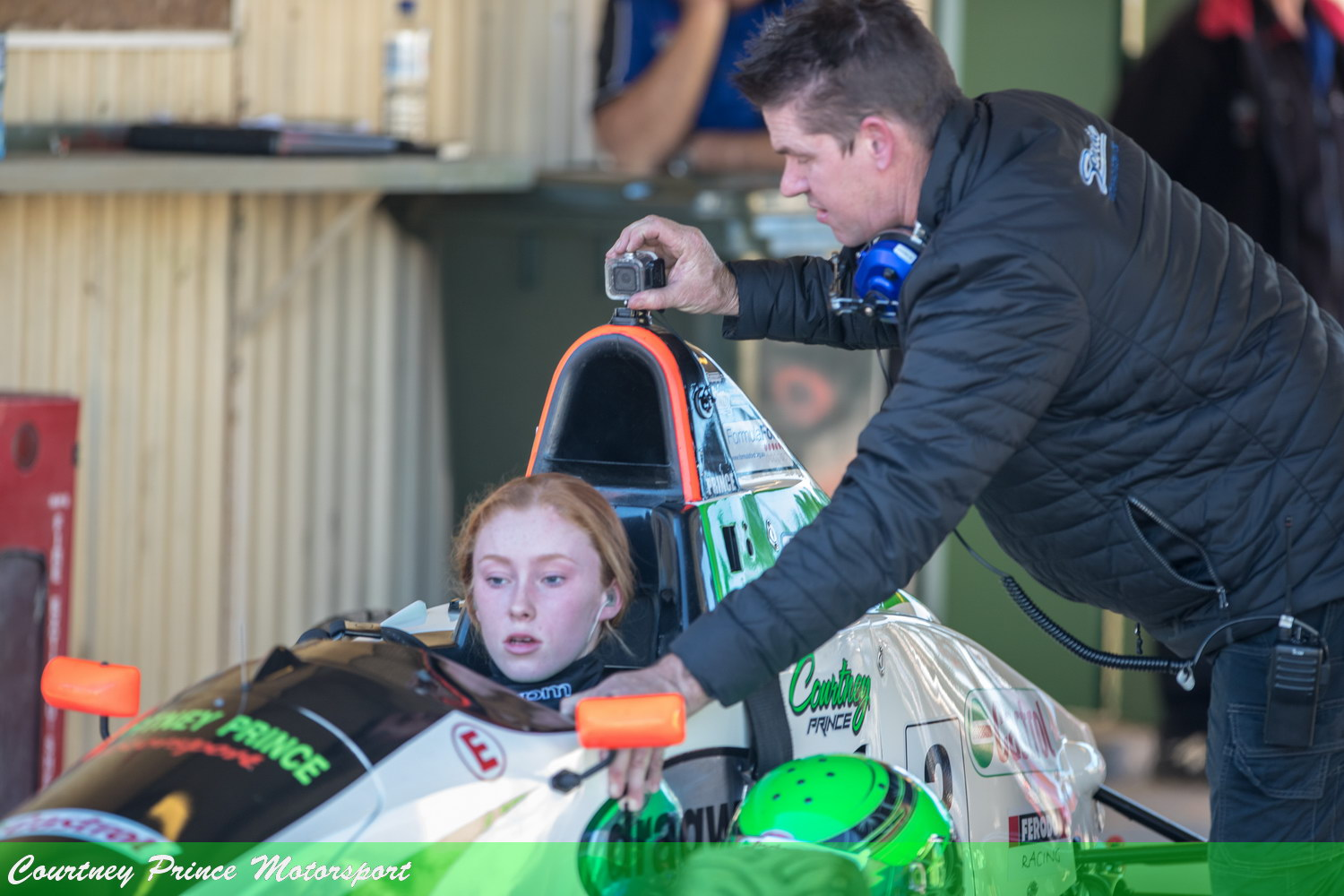 Courtney racing at Wakefield round 3 National Series – 25-27 May.