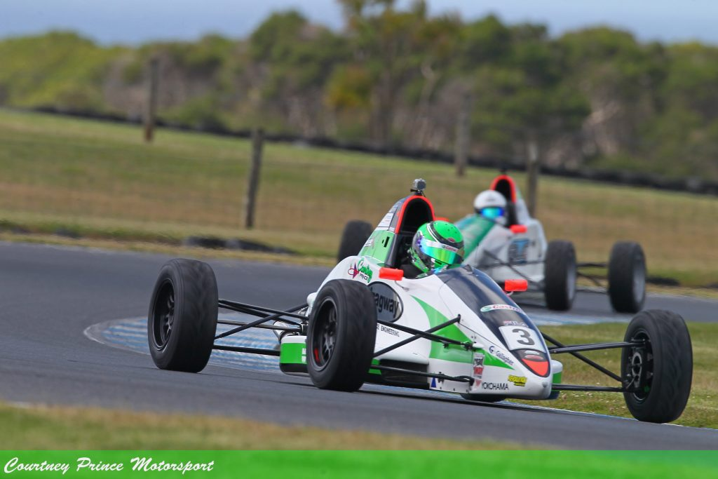 Phillip Island, round 7, September 2018. Courtney Prince Motorsport.