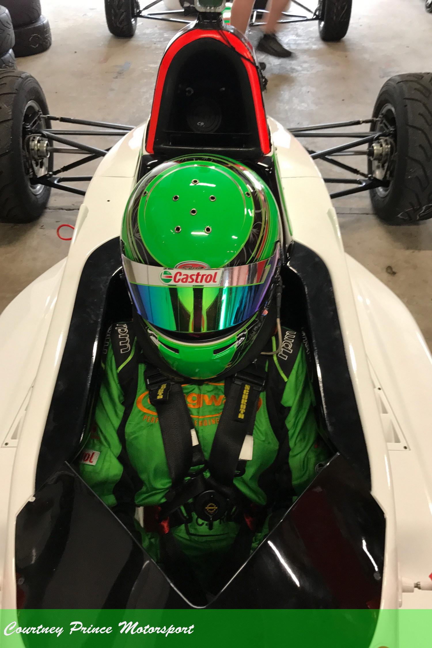 Courtney Prince at Sydney Motorsport Park. 27-28th October Round 7.