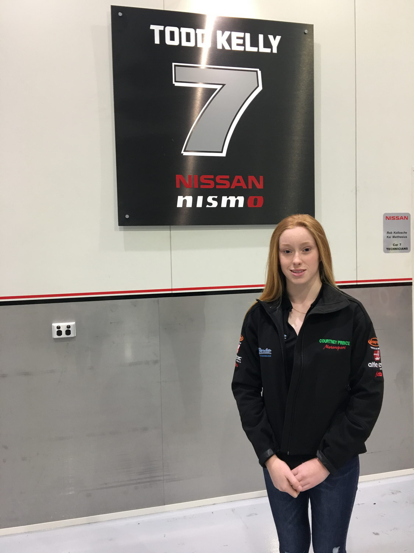 Nissan Motorsport visit.